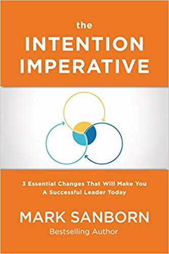 Due out in October!  The Intention Imperative: 3 Essential Changes That Will Make You a Successful Leader Today