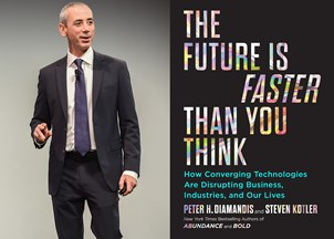 <p>Steven Kotler's The Future Is Faster Than You Think reveals our tech future</p>
