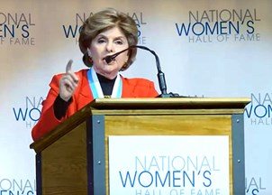 <p>Gloria Allred inducted into the National Women's Hall of Fame</p>