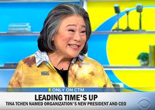 <p>Tina Tchen in the news</p>