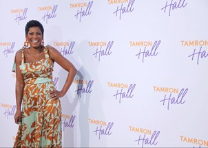 <p>Tamron Hall is the host of a hit talk show</p>