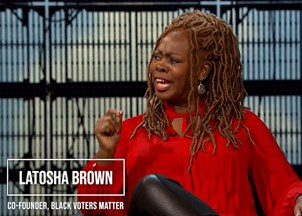 <p>LaTosha Brown Activates Voters Everywhere to Take Claim of the Most Important Role of Our Democracy—The Role of Citizen</p>