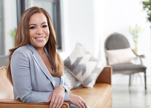 <p>Sunny Hostin champions giving back </p>