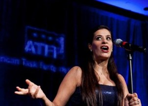 <p>Speaker Spotlight: Maysoon Zayid </p>