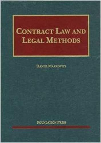 Contract Law and Legal Methods