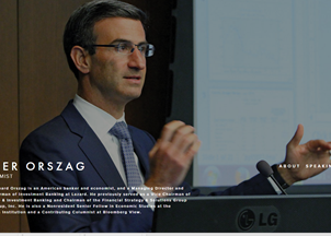 <p>Peter Orszag shares his economic policy recommendations and commentary through his regular articles, media appearances and speaking events</p>