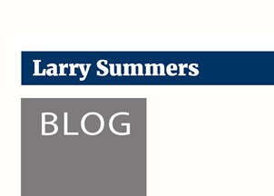 <p>Larry Summers' blog</p>