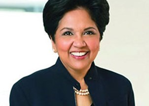 <p>Virtual Programming: Indra Nooyi provides guidance on how to lead through times of crisis and disruption</p>