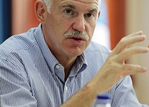 <p>George A. Papandreou</p>