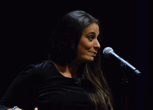 <p>Virtual Programming: Stand-up comedian Maysoon Zayid</p>