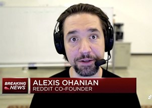 <p>Alexis Ohanian in the news</p>
