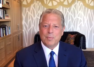 <p>Virtual Programming: Al Gore on the coronavirus' impact on the environment </p>