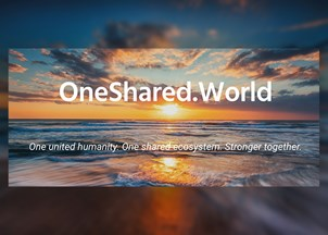 <p>One Shared World</p>