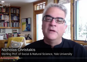 <p>VIRTUAL PROGRAMMING: Leading Coronavirus expert Nicholas Christakis highly sought-out for game-changing insights on how to battle the pandemic and what the future might look like</p>