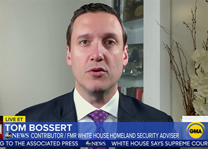 <p>Tom Bossert in the news</p>