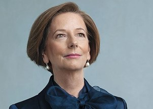 <p>Australian Prime Minister Julia Gillard's presents a road map for female leaders in her new book <em>Women and Leadership</em></p>