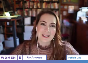 <p>Multi-talented actress, gamer and digital devotee Felicia Day takes her message of digital inclusion to- where else?- Twitch</p>