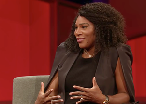 <p><strong>VIRTUAL PROGRAMMING: Serena Williams is an incredibly inspiring, powerful woman who is a remarkable example of leadership, tenacity, and vision</strong></p>