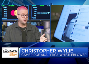 <p>Christopher Wylie in the news</p>