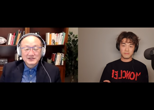 <p>Dr. Jim Yong Kim appeared on Eric Nam's I Think You're Dope Podcast, where the two talked about Dr. Kim's latest work and news</p>