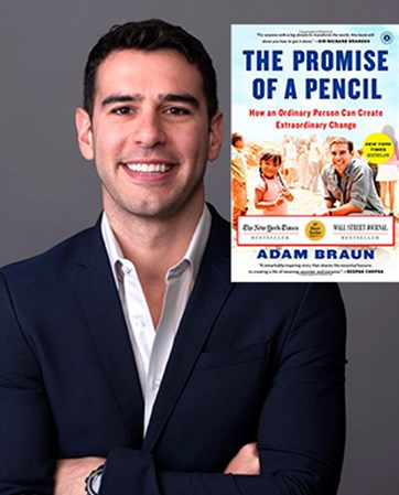 Adam  Braun headshot