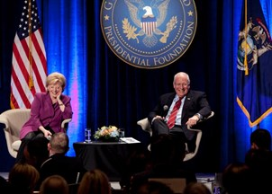 <p>Lynne Cheney, former Vice President Dick Cheney recall strong friendship with Ford family</p>
