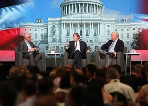 <p><strong>Sold Out Debate with Political Masterminds Rove &amp; Messina</strong></p>