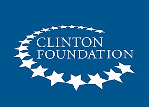 <p>The Clinton Foundation</p>