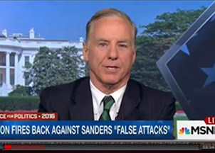 <p>Howard Dean: Bernie Sanders has to Tone Down his Rhetoric</p>