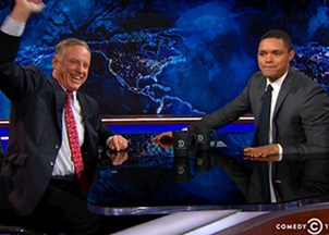 <p>Howard Dean on The Daily Show</p>