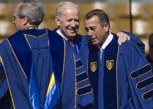 <p>VP Biden Calls Boehner a Man of