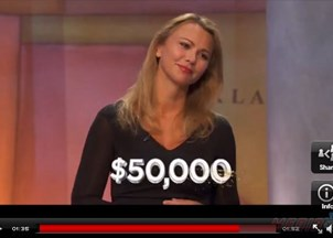 <p>60 Minutes Correspondent Lara Logan wins $50K for charity by beating Anderson Cooper and Michael Steele on Jeopardy</p>