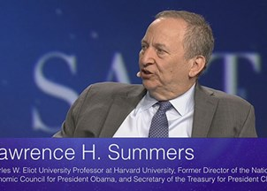 <p>Larry Summers Kicks-Off SALT, the Super Bowl of Financial Conferences</p>