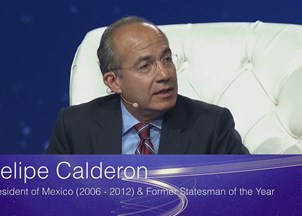 <p>Felipe Calderon at SALT 2016 Addresses Immigration &amp; What U.S. Electorate Needs to Consider When Selecting Next President</p>