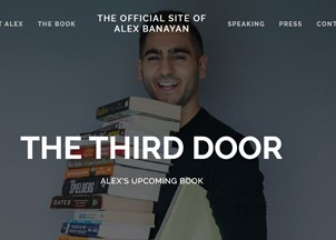 <p>Alex Banayan's all-access book, The Third Door, set for release </p>