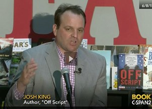 <p>C-SPAN's Book TV Series Covers <strong><em>Off Script</em></strong></p>