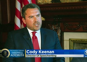 <p>Cody Keenan in the News</p>