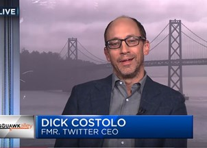 <p>Dick Costolo in the News</p>