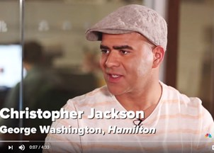 <p>Christopher Jackson in the News</p>