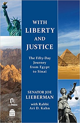 Due out March 30, 2018!  With Liberty and Justice: The Fifty Day Journey from Egypt to Sinai