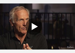 <p><strong>Greg Norman sought-out for his business insights by Forbes Podcast  </strong></p>