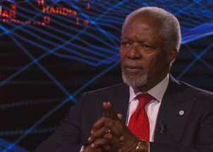 <p><strong>Kofi Annan sheds light on world affairs in compelling BBC Hardtalk interview </strong></p>