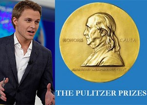 <p><strong>Ronan Farrow wins the Pulitzer Prize for Public Service</strong></p>