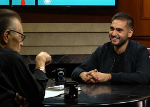<p>Alex Banayan reveals fascinating insights on his book on Larry King </p>