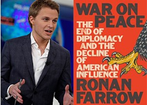 <p>Ronan Farrow makes headlines for awards and work </p>