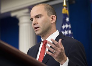 <p>Ben Rhodes is named a political contributor for NBC News and MSNBC</p>