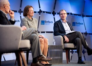 <p>Karen Mills shares insights on disruption and the future of work </p>