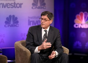 <p>Jack Lew makes headlines for shrewd MarketWatch interview </p>