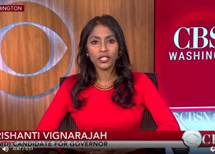 <p>Krish Vignarajah in the news</p>