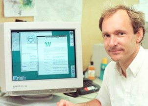 <p>Tim Berners-Lee's plan to fix the World Wide Web featured in Vanity Fair </p>